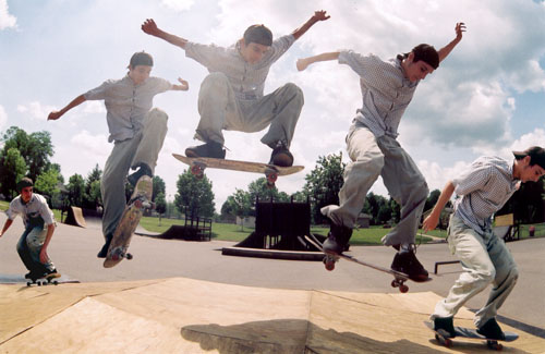 skateboarding picture
